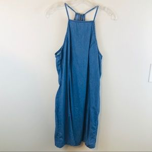 Anthropologie Denim MimiI Chica Midi Dress